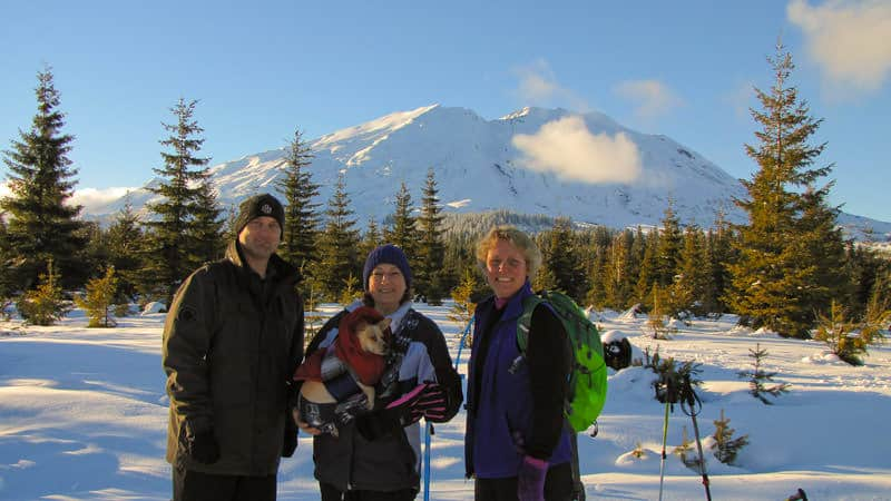 Mt St Helens - Adventures with Dotty