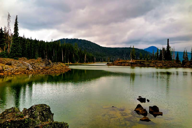 Sparks Lake Adventures with Dotty